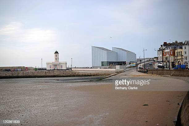 A general view of The Turner Contemporary gallery on August 2 2011 in Margate England The east Kent seaside town of Margate is currently undergoing...