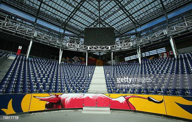 General view of the UEFA EURO 2008 stadium Wals-Siezenheim on February 14, 2007 in Salzburg, Austria.