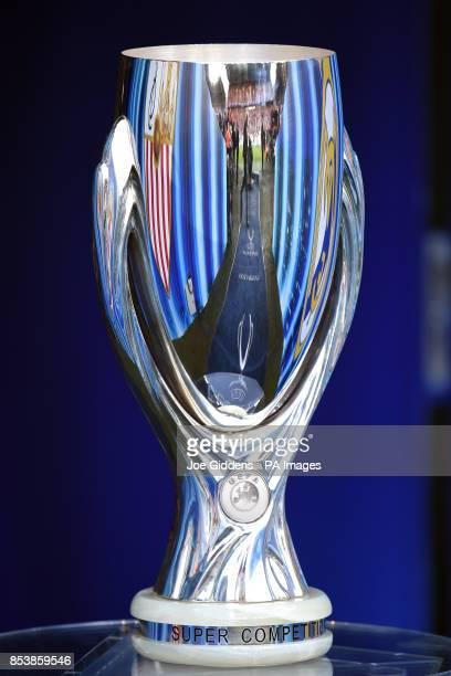 General view of the UEFA Super Cup