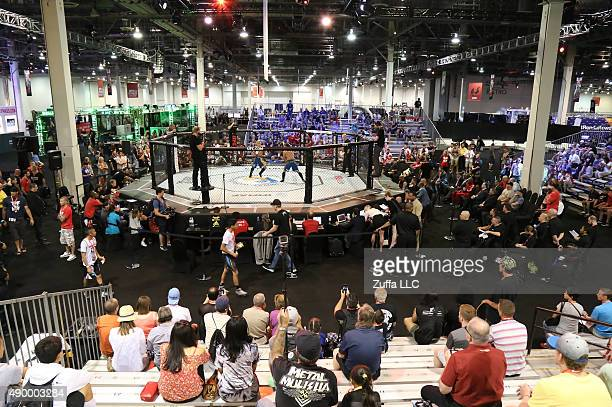 General view of the UFC Fan Expo in the Sands Expo and Convention Center on July 10 2015 in Las Vegas Nevada