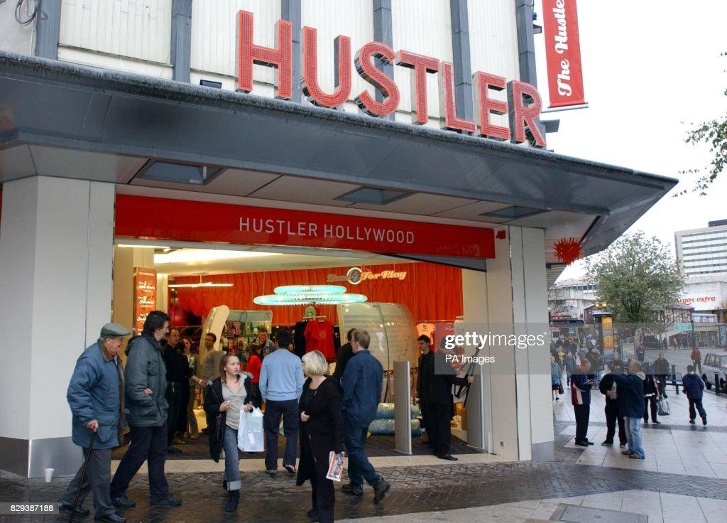 Hustler birmingham shop