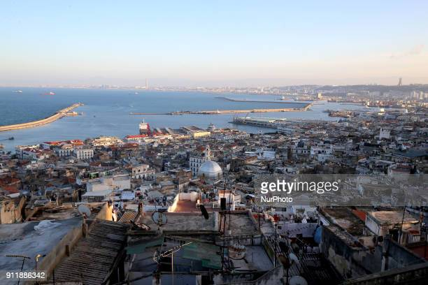 General view of the UNESCOdesignated Kasbah district Algiers Algeria 29 January 2018 The distric was integrated into a project of UNESCO organization...