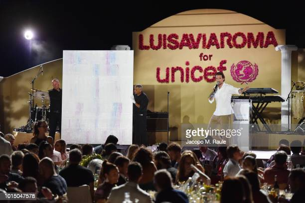 A general view of the Unicef Summer Gala Presented by Luisaviaroma afterparty at Villa Violina on August 10 2018 in Porto Cervo Italy