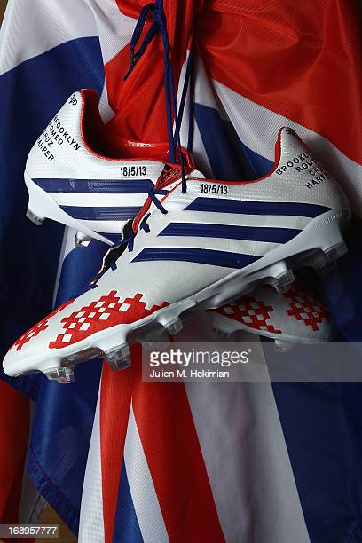A general view of the unique adidas Predator Lethal Zone boots made by David  Beckham online 87f76ee4a849