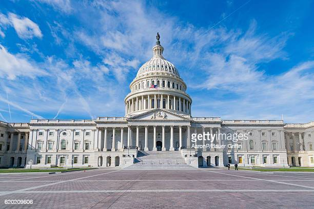 General view of the United States Capitol on October 31 2016 in Washington DC Washington DC