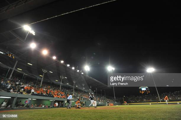 General view of the United States Final at Lamade Stadium on August 26 2009 in Williamsport Pennsylvania The San Antonio Texas defeated Staten Island...