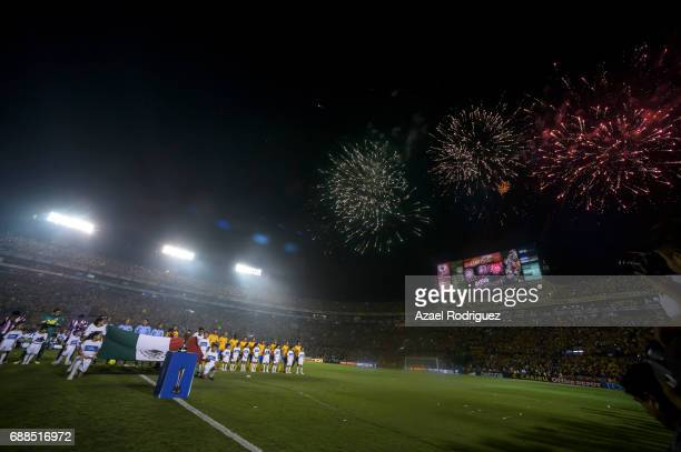 General view of the Universitario Stadium prior the Final first leg match between Tigres UANL and Chivas as part of the Torneo Clausura 2017 Liga MX...