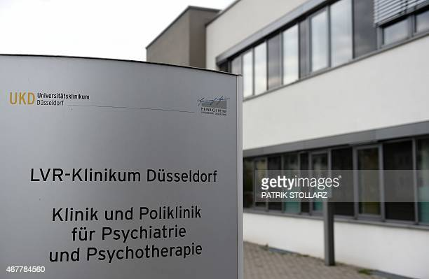 A general view of the University hospital were Andreas Lubitz the Germanwings copilot who flew his Airbus into a French mountainside was treated is...