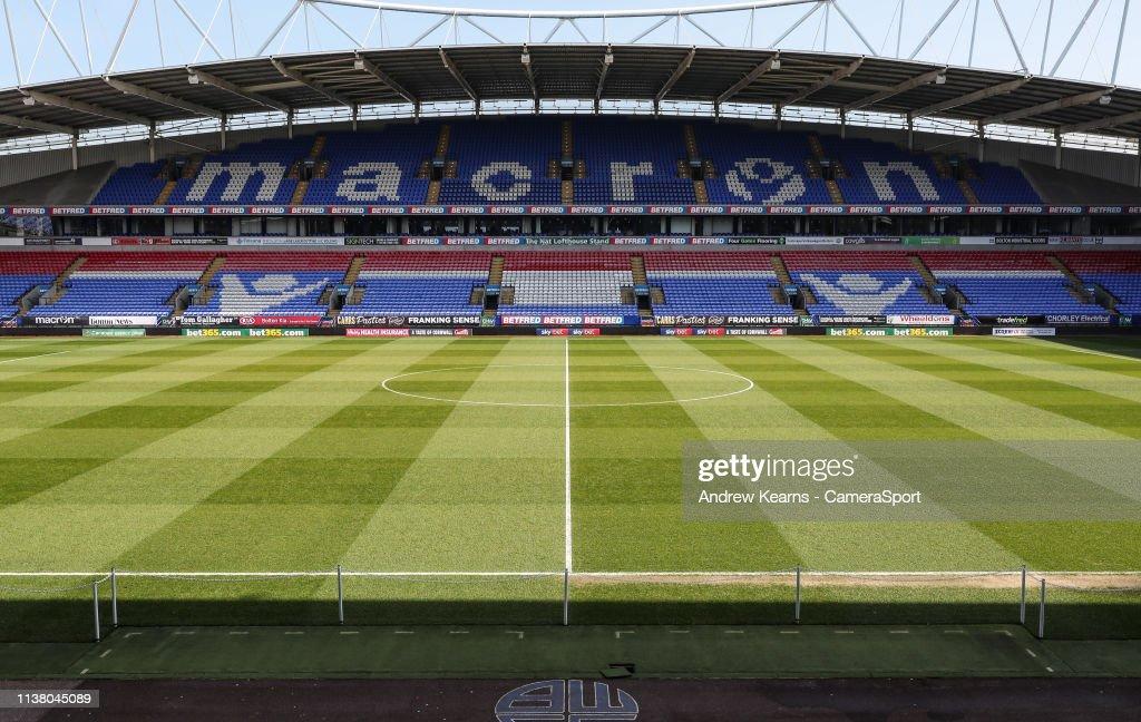 GBR: Bolton Wanderers v Aston Villa - Sky Bet Championship