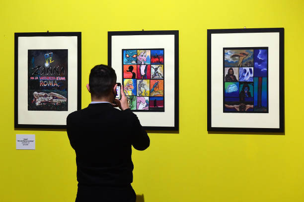 """ITA: Italian Graphic Novelist """"Andrea Pazienza"""" Exhibition Preview"""