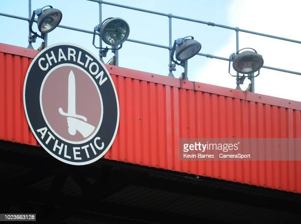 A general view of The Valley home of Charlton Athletic FC during the Sky Bet League One match between Charlton Athletic and Fleetwood Town at The...