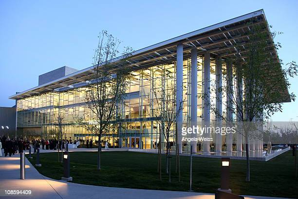 A general view of the Valley Performing Arts Center at California State University Northridge during the Inaugural Gala Performance on January 29...