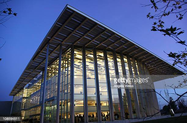 General view of the Valley Performing Arts Center at California State University, Northridge during the Inaugural Gala Performance on January 29,...