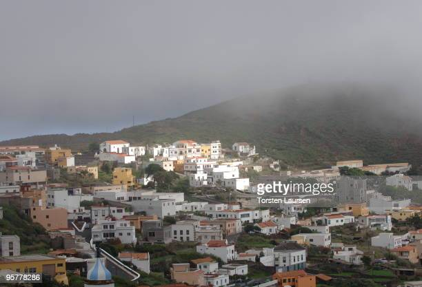 A general view of the Valverde town on El Hierro Island January 13 2010 in El Hierro Island Spain The island inspired and features in the new film...
