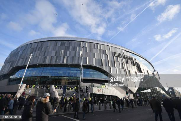 General view of the venue during the Premier League match between Tottenham Hotspur and Burnley at White Hart Lane London on Saturday 7th December...