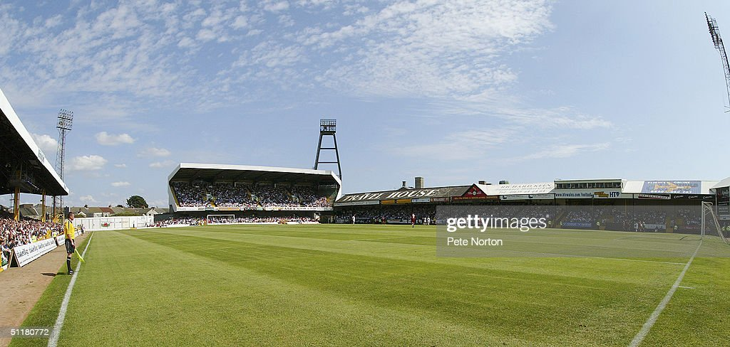 General view of Vetch Field : News Photo