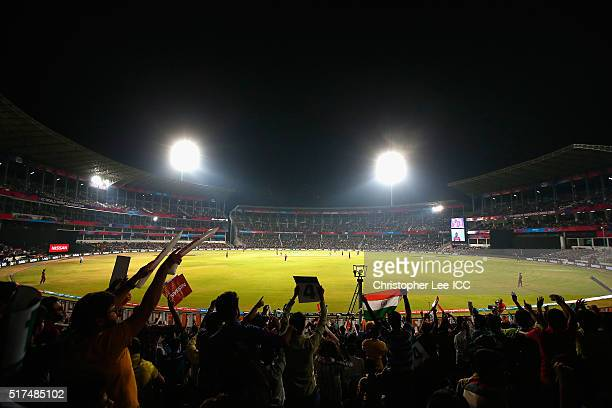 General view of the Vidarbha Cricket Association Stadium during the ICC World Twenty20 India 2016 Group 1 match between South Africa and West Indies...