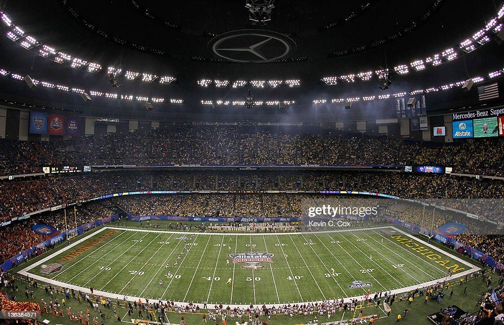 Allstate Sugar Bowl - Michigan v Virginia Tech : News Photo