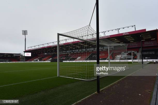 General view of the Vitality Stadium Bournemouth during the FA Cup match between Bournemouth and Oldham Athletic at the Vitality Stadium, Bournemouth...