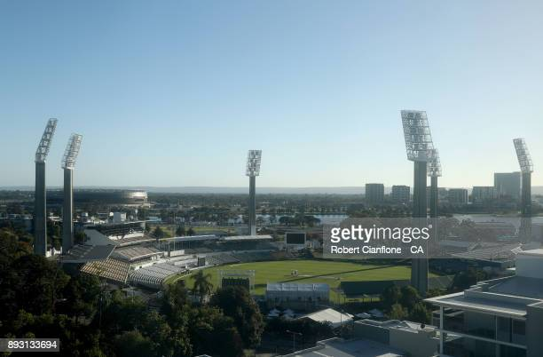 A general view of the WACA during day one of the Third Test match of the 2017/18 Ashes Series between Australia and England at the WACA on December...