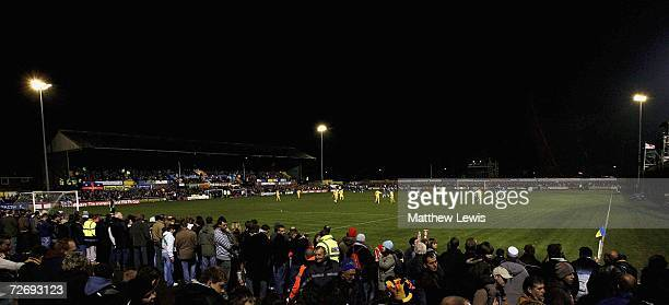 A general view of The Walks Stadium during the FA Cup Second Round match between Kings Lynn and Oldham Athletic at The Walks Stadium on December 1...
