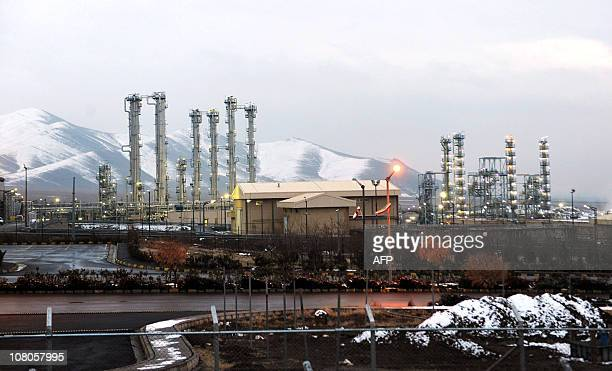 A general view of the water facility at Arak on January 15 201 Iran's atomic chief Ali Akbar Salehi told a group of foreign diplomat visiting the...