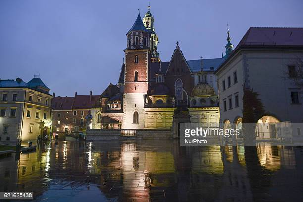 A general view of the Wawel Castle's Cathedral a few days before a special team of investigators from the National Prosecutor's Office headed by...