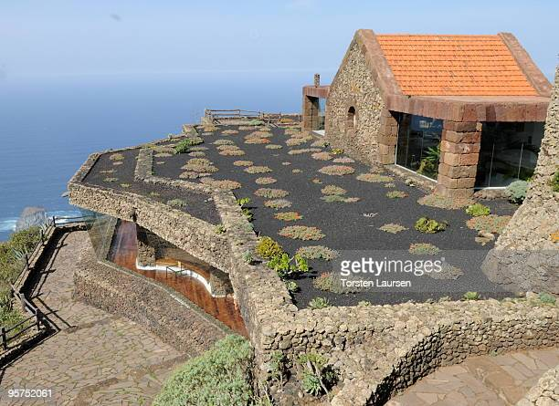 A general view of the West coast on El Hierro Island January 13 2010 in El Hierro Island Spain The island inspired and features in the new film...