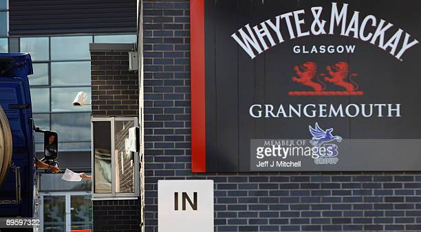 A general view of the White and Mackay whisky bottling plant on August 4 2009 in Grangemouth Scotland The Indian owned company is set to make...
