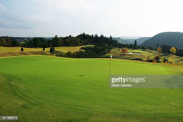 General View of the Windsor Park Golf Club course on November 03 2004 in Ibaraki Japan