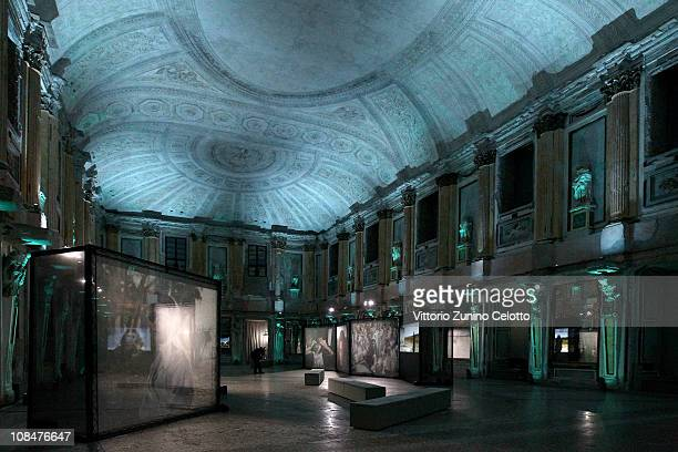 A general view of the Women Without Men exhibition held at Palazzo Reale on January 28 2011 in Milan Italy