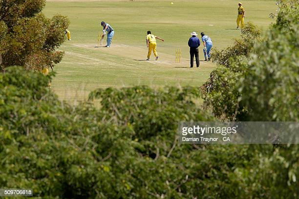 A general view of the women's match between New South Wales and Western Austrlia during day 5 of the National Indigenous Cricket Championships on...