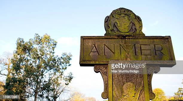 A general view of the wooden Anmer village sign in Anmer on January 13 2013 in King's Lynn England It has been reported that Queen Elizabeth II is to...