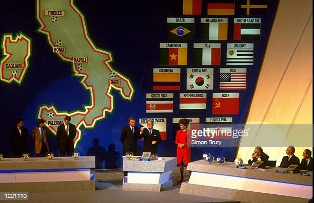 General view of the World Cup Draw in Italy Mandatory Credit Simon Bruty/Allsport