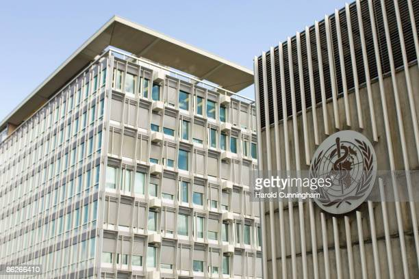 A general view of the World Health Organization on April 28 2009 in Geneva Switzerland The World Health Organization's Director General Margaret Chan...