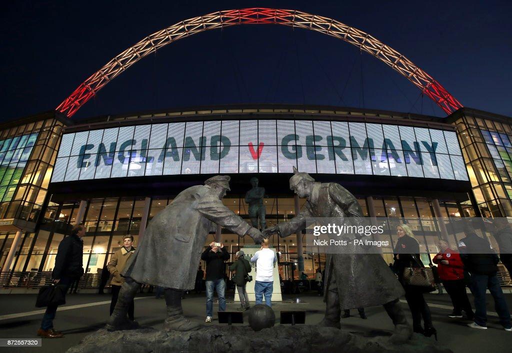 England v Germany - International Friendly - Wembley Stadium : News Photo