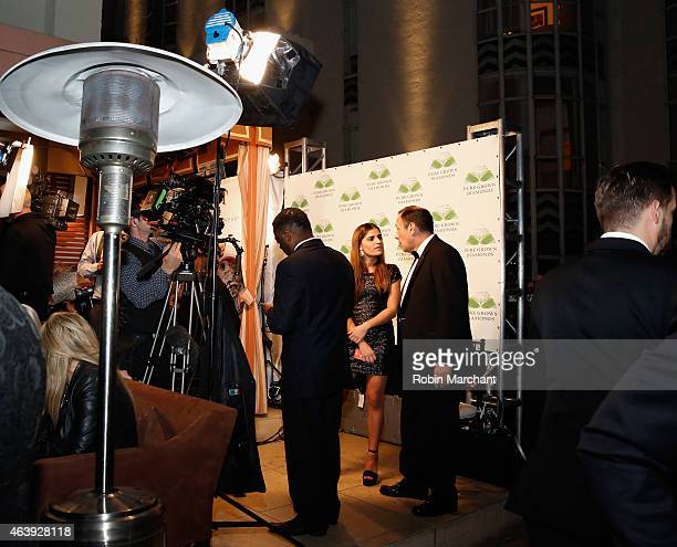 General view of the World's Largest LabCultivated Pure Grown Diamond UnveiledÊScientific Breakthrough Debuts at Hollywood Domino Annual PreOscar...