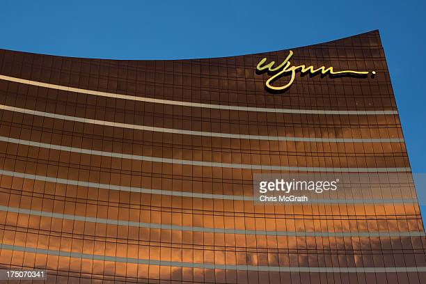General view of the Wynn Casino is seen on July 29, 2013 in Macau, Macau. Macau, the only place in China with legalized casino gambling is booming....