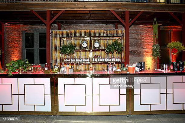 A general view of the Zodiac Vodka bar at an exclusive launch party introducing Zodiac Vodka to the California market hosted by Zodiac Vodka and...