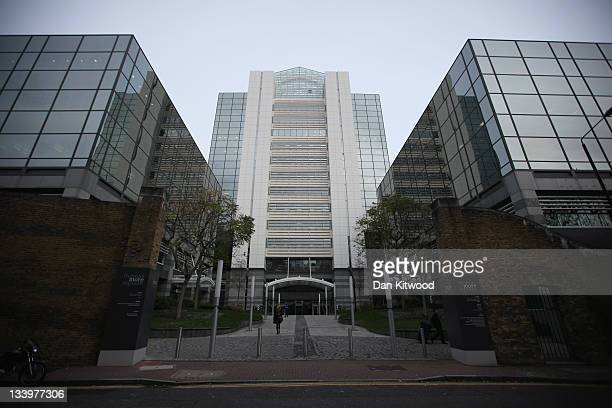 General view of Three Thomas More Square, home to News International, on November 23, 2011 in London, England. It emerged today that James Murdoch...