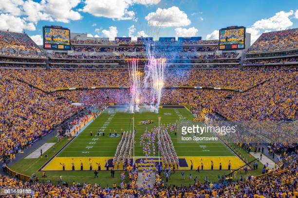 General view of Tiger Stadium during the game between LSU and Auburn on October 14 2017 at Tiger Stadium in Baton Rouge LA