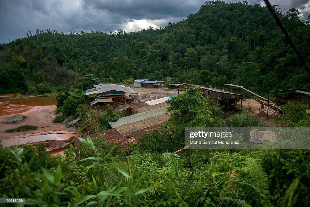 sungai lembing tin mining town in malaysiaの写真およびイメージ