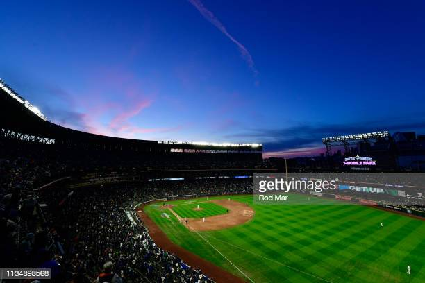General view of T-Mobile Park during a game between the Boston Red Sox and the Seattle Mariners at T-Mobile Park on Thursday, March 28, 2019 in...