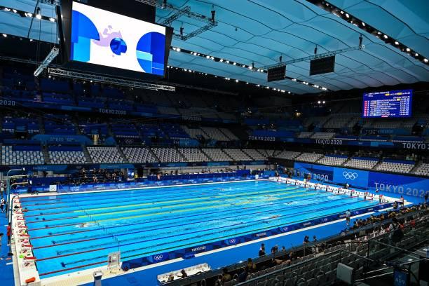 JPN: Swimming - Olympics: Day 9 - Tokyo Olympic Games 2020