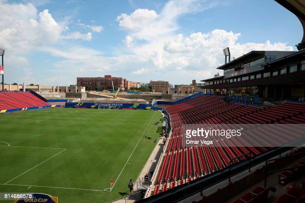 General view of Toyota Stadium prior the CONCACAF Gold Cup Group A match between Costa Rica and French Guiana at Toyota Stadium on July 14 2017 in...