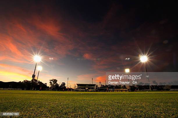A general view of Traeger Park on February 11 2015 in Alice Springs Australia