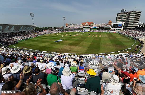 A general view of Trent Bridge during day three of the 1st Investec Ashes test match between England and Australia at Trent Bridge in Nottingham UK...