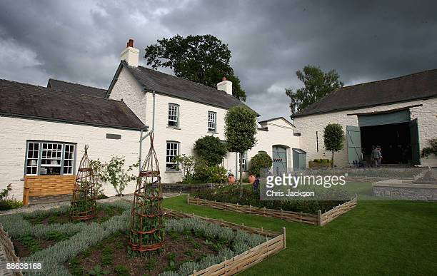 A general view of TRH Camilla Duchess of Cornwall and Prince Charles Prince of Wales's welsh property Llwynywermod on June 22 2009 in Llandovery...