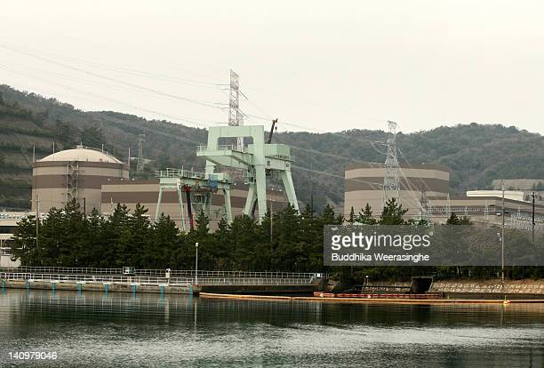 A general view of Tsuruga Power Station which is run by Japan Atomic Power Company on March 8 2012 in Tsuruga Japan Only two of Japan's 54 nuclear...