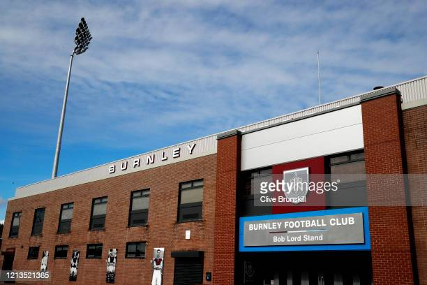 General view of Turf Moor, home to Burnley FC photographed on March 19, 2020 in Burnley, England.